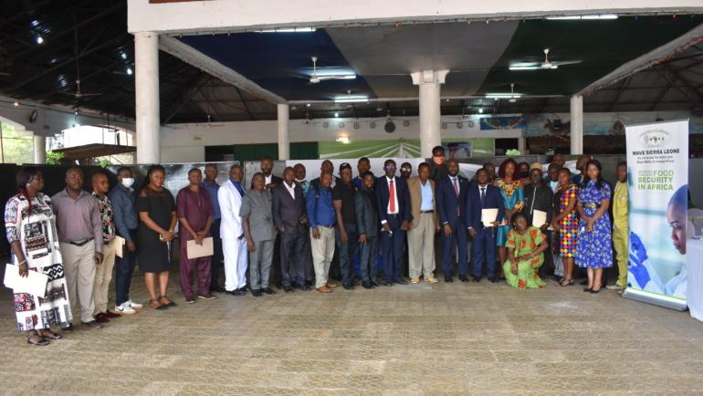 Lancement officiel des activités du programme WAVE en Sierra Leone