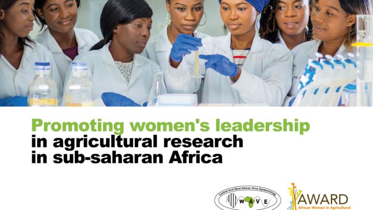 WAVE et AWARD unissent leurs forces pour le renforcement des capacités des femmes scientifiques africaines