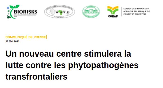 Un nouveau centre stimulera la lutte contre les phytopathogènes transfrontaliers